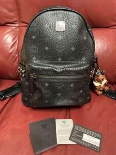 MCM Backpack 連熊仔 中Size