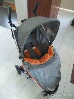 Stroller Sweet cherry scr3 with bag