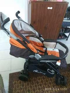 Stroller Halfords s8 , facing parents stroller