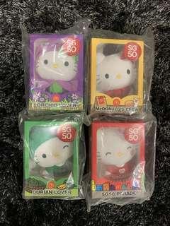 New! Set of 4 SG50 Hello Kitty