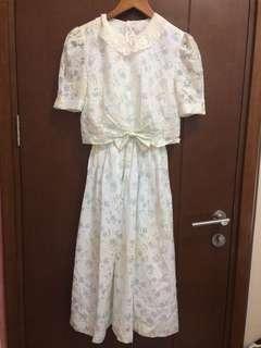 [NEW] Mididress Floral Vintage
