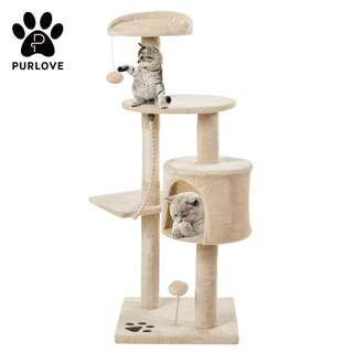 PURLOVE® 3 Tier Kitten Cat Tree (YA135)