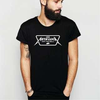 Metallica x Vans 100% cotton HIGH Quality T-Shirt!