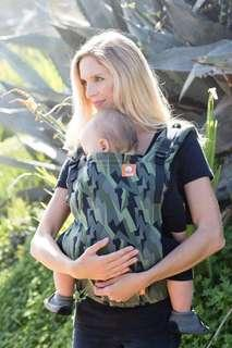 Tula Free To Grow Baby Carrier (Black Lightning)