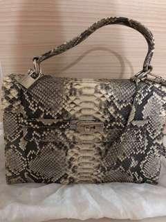 🚚 Handmade Designer Snake skin Birkin Bag