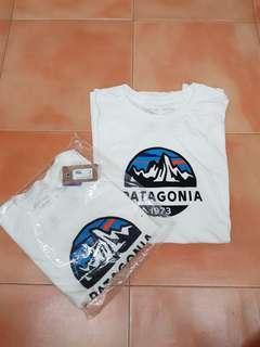 Patagonia Fitz Roy White Tee