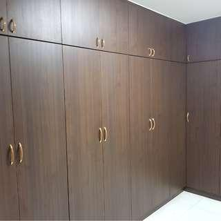 HDB Full Height L-Shape Wardrobe