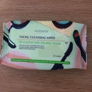 Watsons Facial Cleansing Wipes