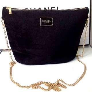 Chanel makeup sling bag