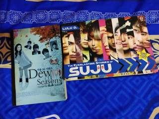 Novel Dew (4) Season + The Everlasting Stories of Super Junior