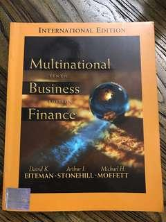 Multinational Business Finance 10 Edition