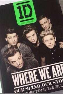🚚 1D where we are official book