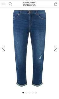 Dorothy Perkins Boyfriend jeans uk18
