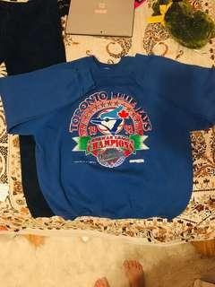 Vintage blue jays sweater