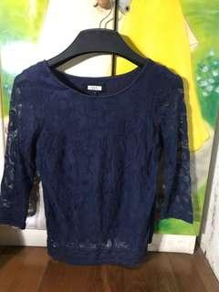 Blue navy top from next  (3/4 sleeve)