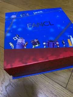 Fancl磁石貼收納盒/聖誕禮物盒