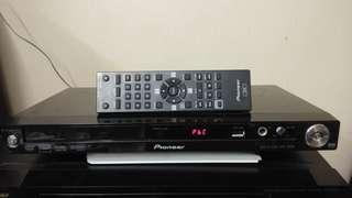 Pioneer DV-120-K  Compact multi-format DVD player with USB, karaoke, & DivX playback