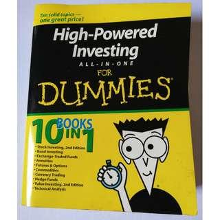High-Powered Investing All-in-One For Dummies Paperback