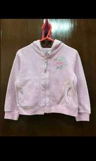 Jaket anak pink second good condition