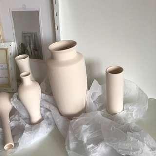 White Ceramic Vase Decor
