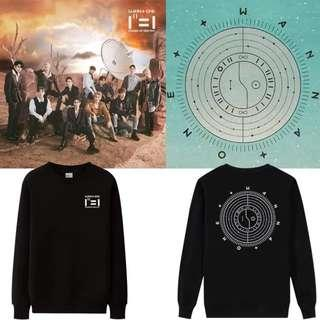 Wanna One Power of Destiny Pullover