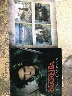 已絕版!2008 The Chronicles of Narnia Stamps 魔幻王國《納尼亞傳奇》