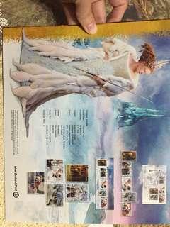 已絕版!2005 The Chronicles of Narnia The Lion, The Witch and The Wardrobe Stamps 魔幻王國郵票