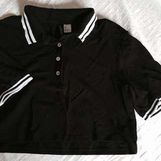 🚚 H&M jersey crop