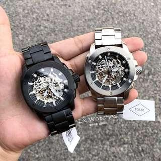 Fossil Modern Machine Automatic Skeleton Dial Mechanical watch