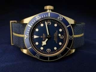 [SOLD] Brand New Tudor Black Bay Bronze Bucherer Blue Edition