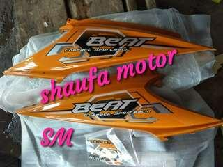 Cover body blakang honda beat karbu