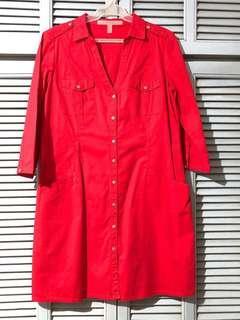 Mango: Dress (Red)