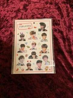 BTS JUNGKOOK STICKERS