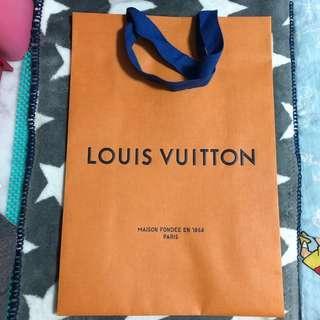 LV 紙袋
