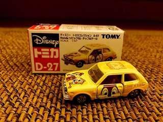 Tomy Tomica D-27 藍字 大鼻鋼牙 車仔 已絕版