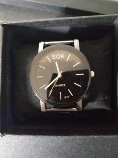男裝鋼帶手表