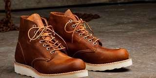 🚚 Red wing boots