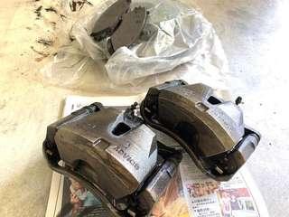 Original Lexus IS250 front brakes caliper & rotors