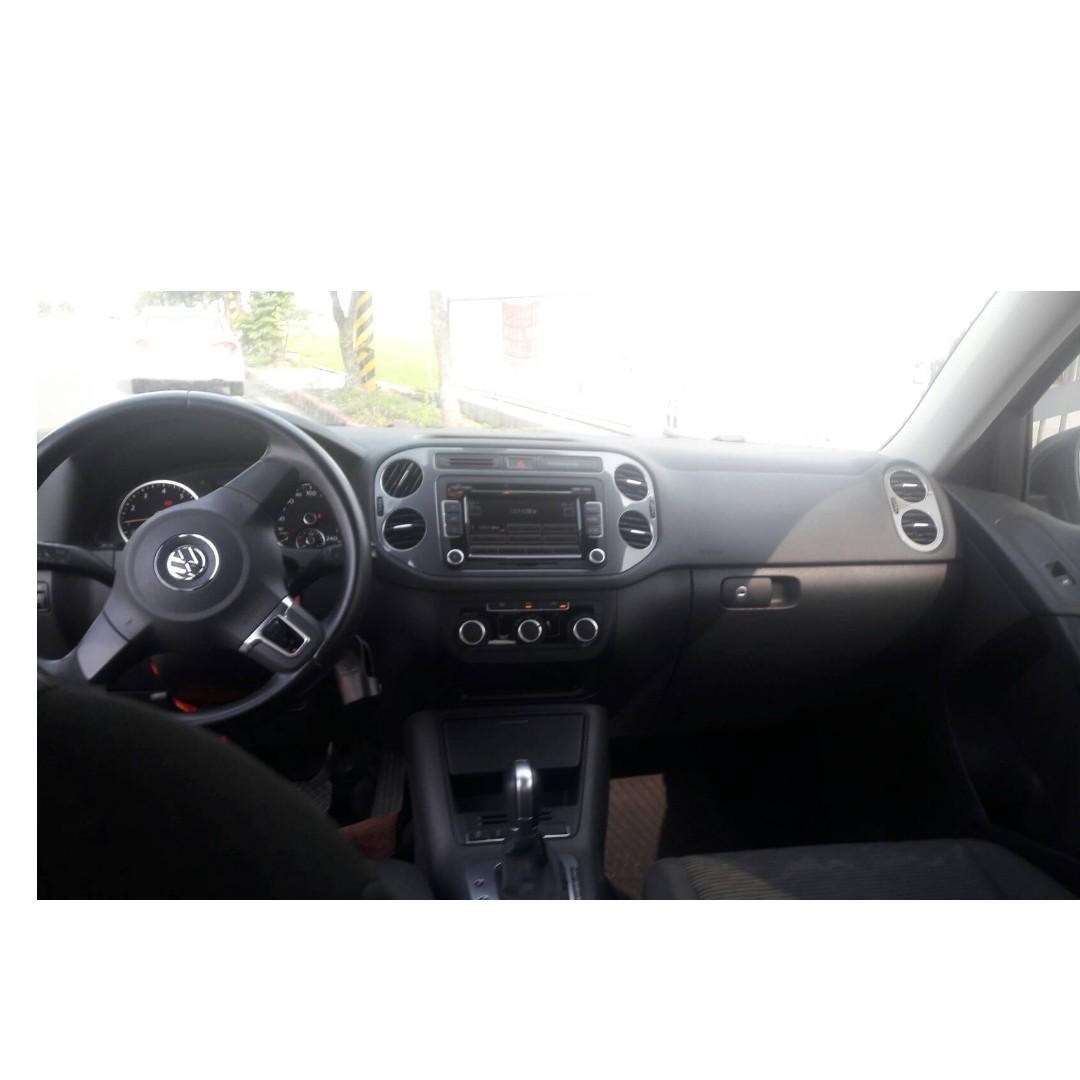 賣30萬跑5萬公里2014年 福斯VW Tiguan 帝觀 TSI 保養後馬上拍 GOOD前車女生