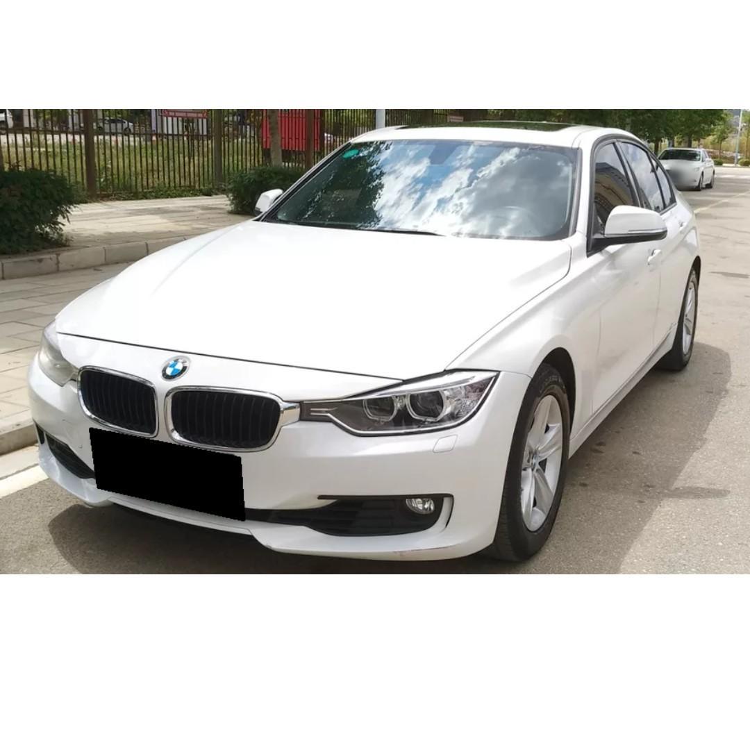 賣48萬跑8萬公里2011年 BMW 320 下車隨手一拍實體照片協理的車GOOD