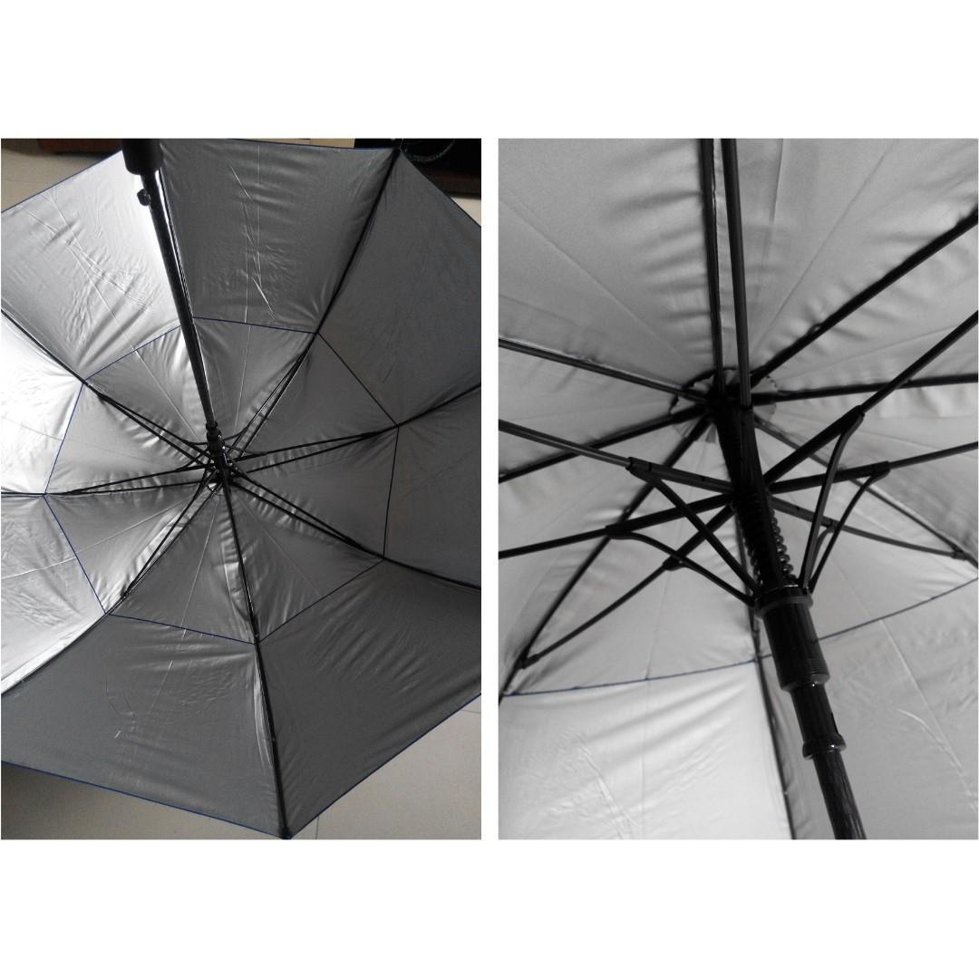 $60 高爾夫球傘/雙層防風傘