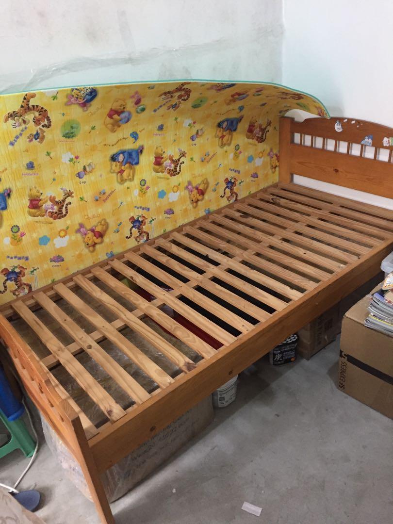 翡翠松木床