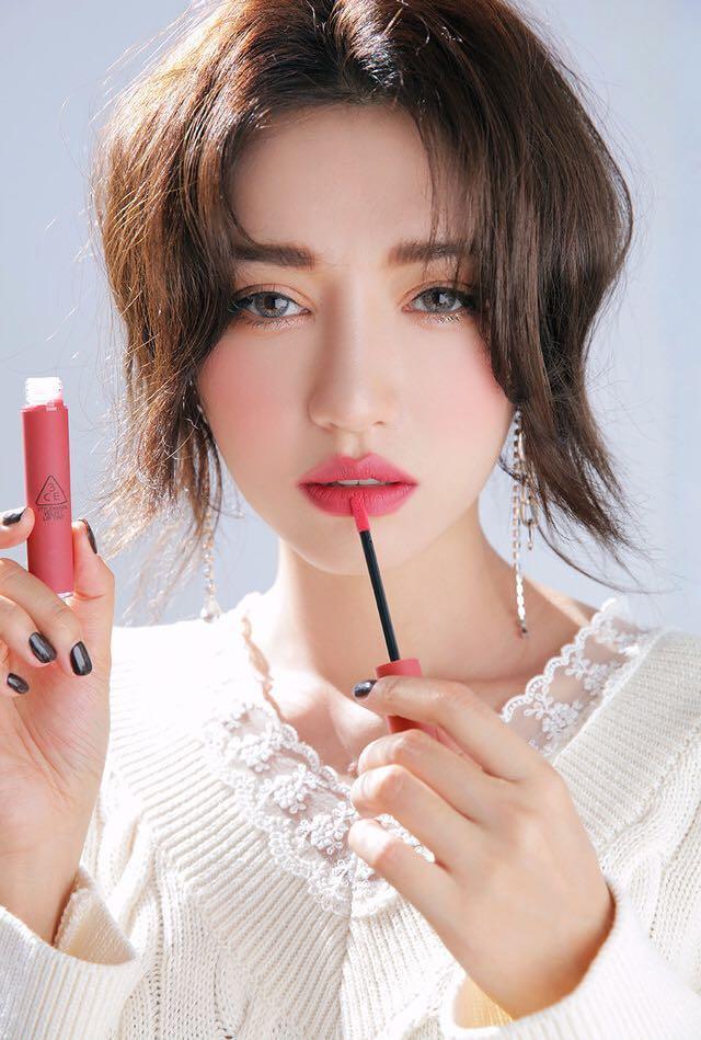 全新 3CE Velvet Lip Tint 絲絨染唇液/唇彩/唇膏