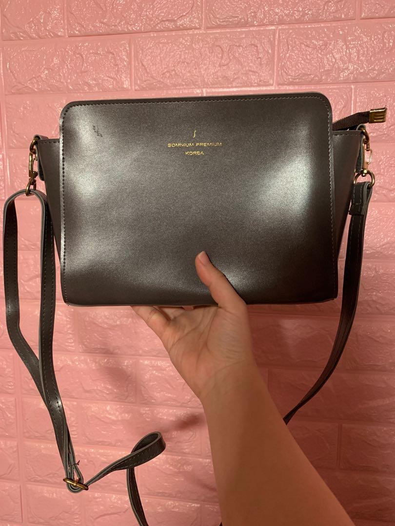 韓國斜孭袋 crossbody bag 90%new