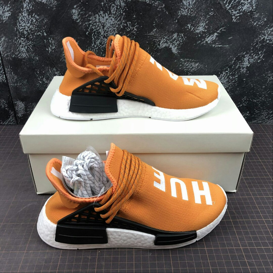 outlet store cae28 168fc Adidas Nmd Human Race Tangerine