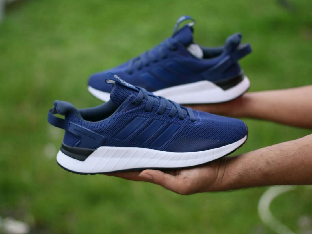 Adidas Questar Ride Navy 40-44, Fesyen