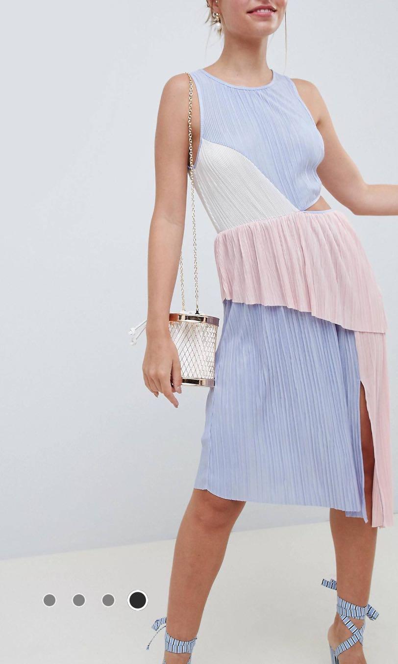 Asos patch color dress