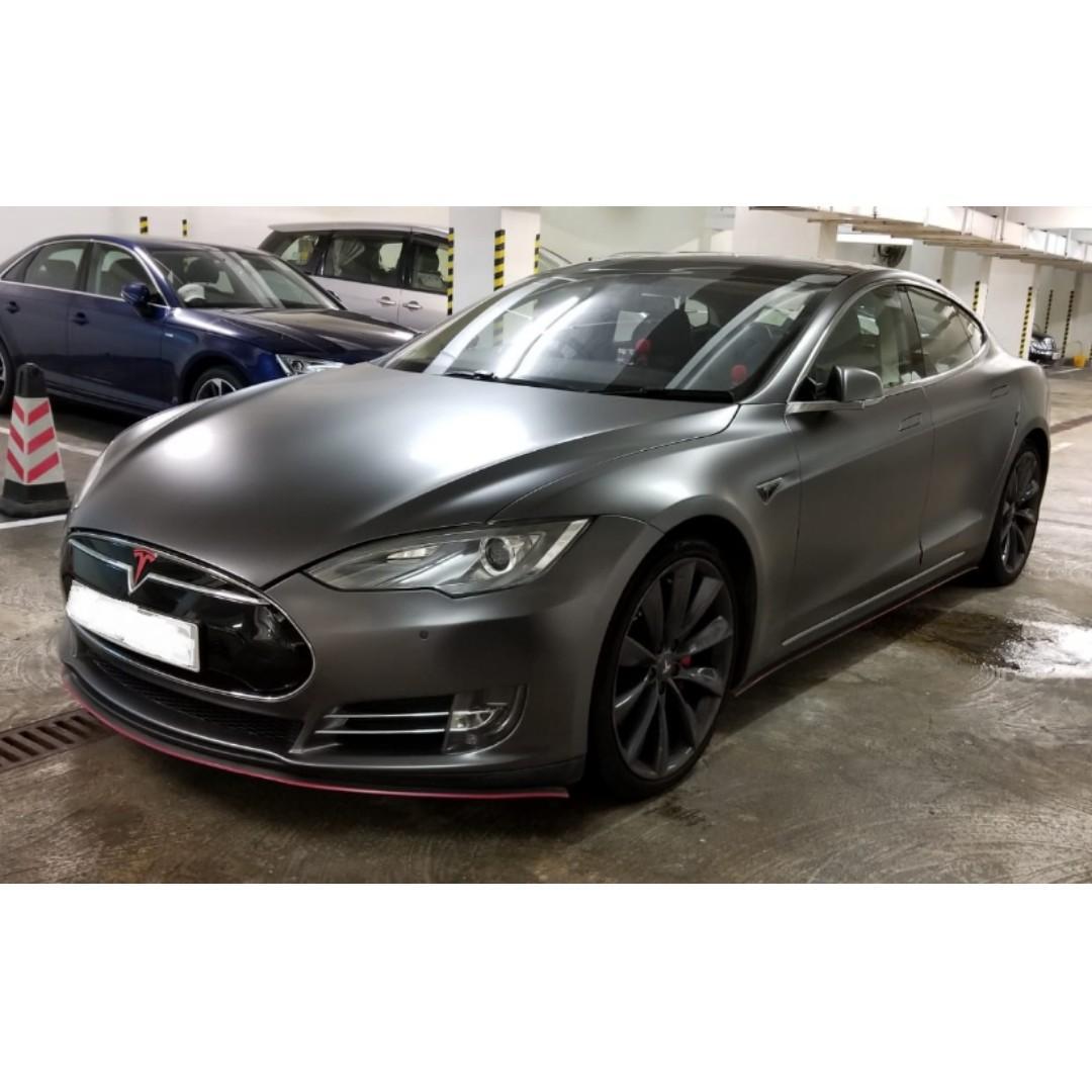 特斯拉 Tesla MODEL S P85 PLUS
