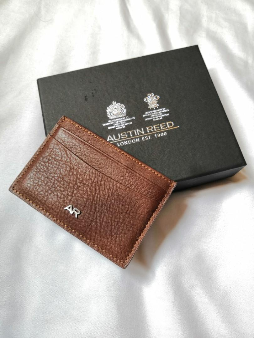 Austin Reed Card Holder Brown Men S Fashion Bags Wallets Wallets On Carousell