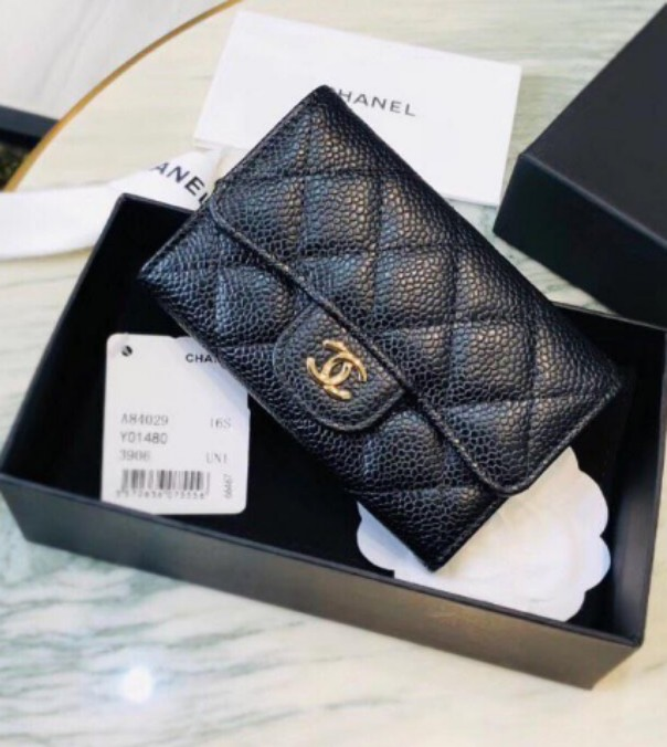 de1bf0ded212 AUTHENTIC CHANEL 2.55 Flap Card Holder, Women's Fashion, Bags ...